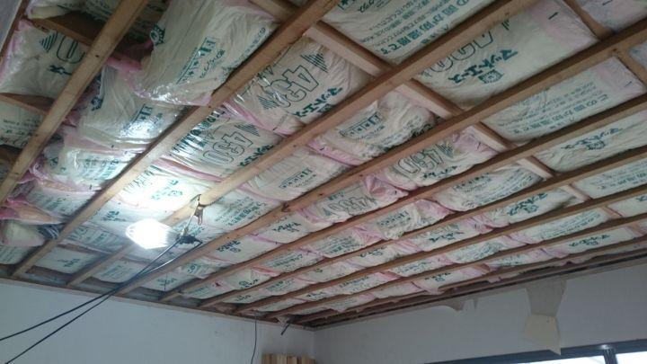 【平屋リノベーション⑤】壁・天井の下地偏